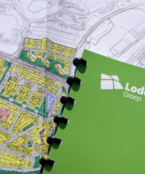 Lodewijck Groep tekening bestemmingsplan
